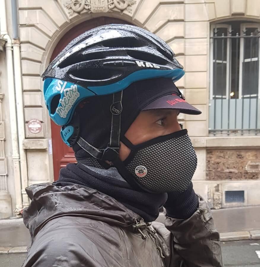 Juan coursier chez District cargo Paris