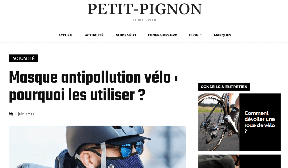 Home page peti-pignon.fr