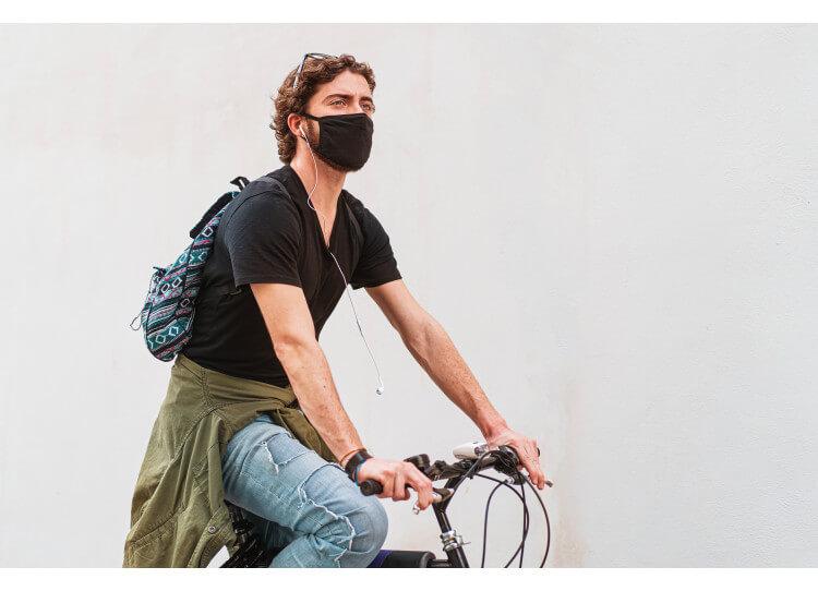 LE MASQUE ANTI POLLUTION VÉLO, L'ASSURANCE D'ÊTRE EFFICACEMENT PROTÉGÉ !