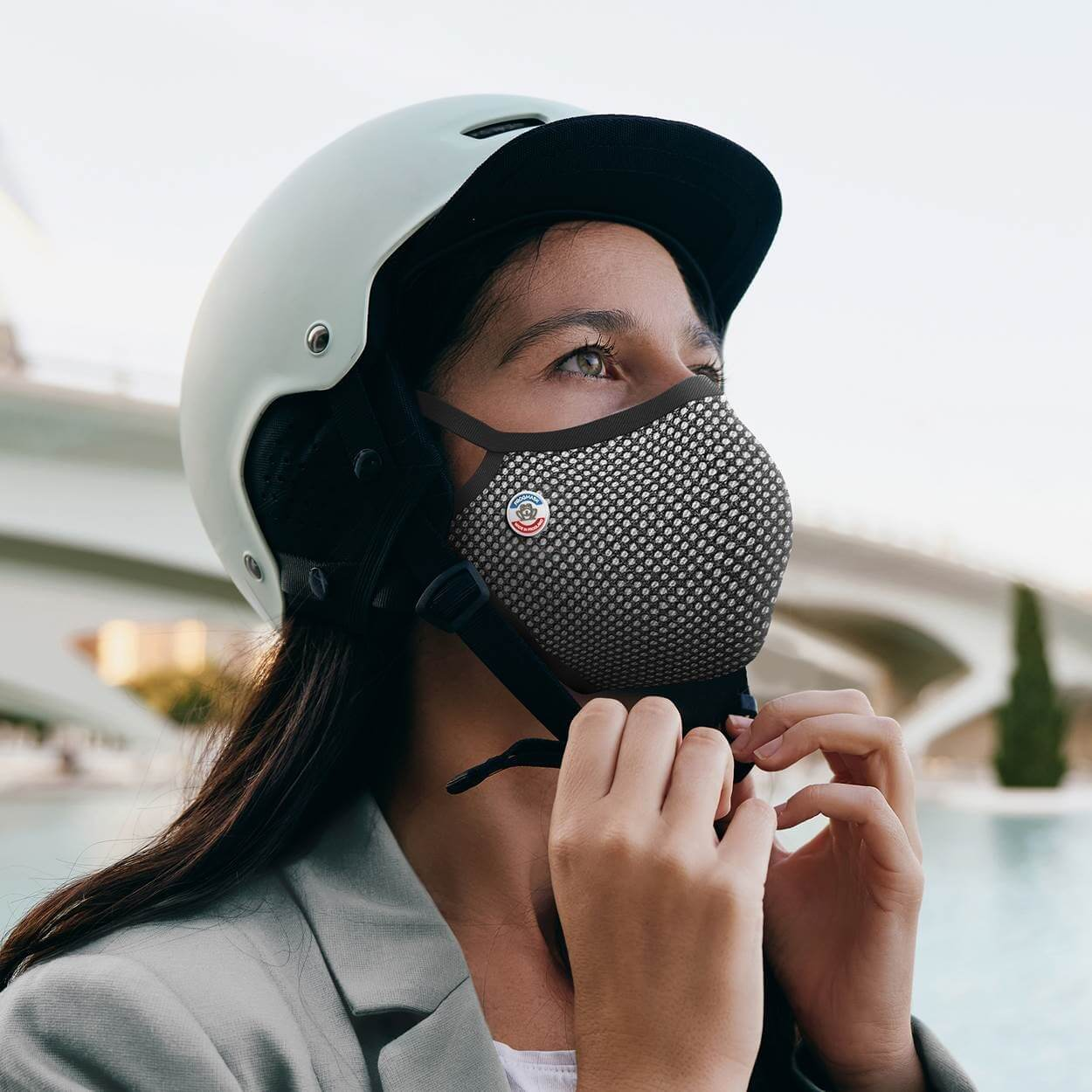 Masque anti pollution vélo Frogmask
