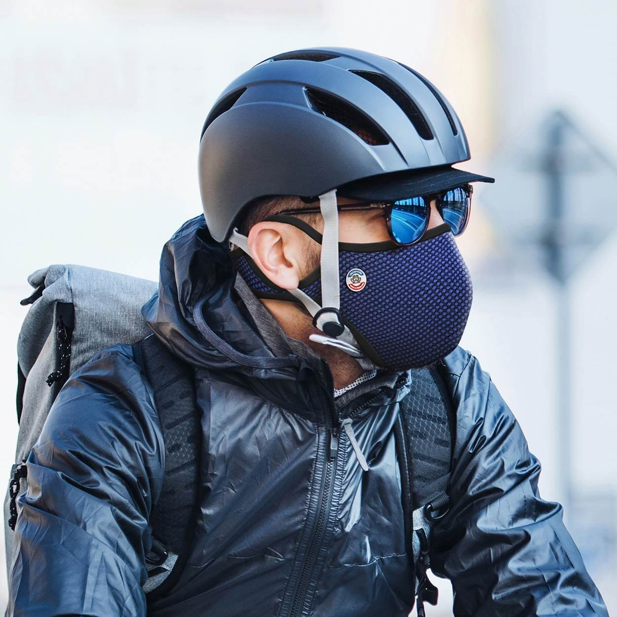 Masque anti pollution cycliste Frogmask